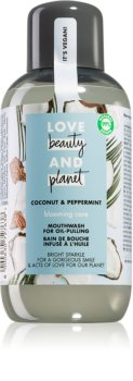 Love Beauty & Planet Blooming Care erfrischendes Mundwasser
