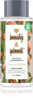 Love Beauty & Planet Happy and Hydrated balsam hidratant pentru par uscat