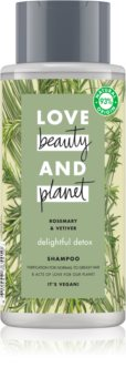 Love Beauty & Planet Delightful Detox Purifying Shampoo For Normal To Oily Hair