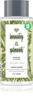 Love Beauty & Planet Delightful Detox čisticí kondicionér pro mastné vlasy