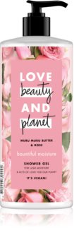 Love Beauty & Planet Bountiful Moisture gel doccia idratante