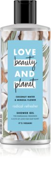 Love Beauty & Planet Radical Refresher felfrissítő tusfürdő gél
