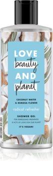 Love Beauty & Planet Radical Refresher gel de dus revigorant