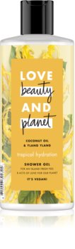 Love Beauty & Planet Tropical Hydration jemný sprchový gel