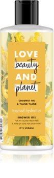 Love Beauty & Planet Tropical Hydration Silkeagtig brusegel