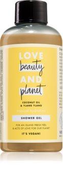 Love Beauty & Planet Tropical Hydration gel de duș mătăsos