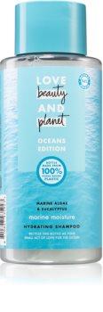 Love Beauty & Planet Oceans Edition Marine Moisture Kosteuttava Hiustenpesuaine