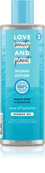 Love Beauty & Planet Oceans Edition Wave of Hydration feuchtigkeitsspendendes Duschgel