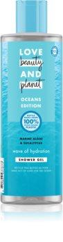Love Beauty & Planet Oceans Edition Wave of Hydration gel de dus hidratant