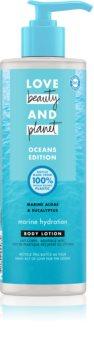 Love Beauty & Planet Oceans Edition Wave of Hydration hidratáló testápoló tej