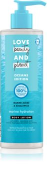 Love Beauty & Planet Oceans Edition Wave of Hydration lait corporel hydratant