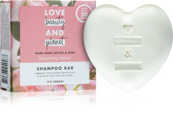 Love Beauty & Planet Blooming Colour șampon solid pentru păr vopsit