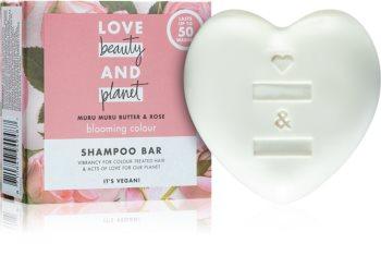 Love Beauty & Planet Blooming Colour szampon w kostce do włosów farbowanych