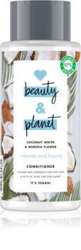 Love Beauty & Planet Volume and Bounty Vahvistava Hoitoaine Hienoille Hiuksille