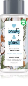 Love Beauty & Planet Volume and Bounty подсилващ балсам за фина коса