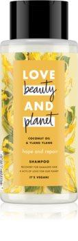 Love Beauty & Planet Hope and Repair regeneráló sampon a károsult hajra
