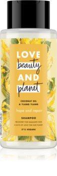 Love Beauty & Planet Hope and Repair Regenierendes Shampoo für beschädigtes Haar