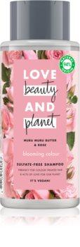 Love Beauty & Planet Blooming Colour shampoo senza solfati per capelli tinti
