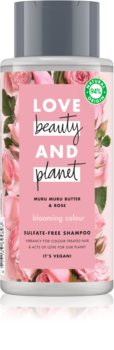 Love Beauty & Planet Blooming Colour Sulfaatti Vapaa Hiustenpesuaine Värjätyille Hiuksille
