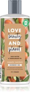 Love Beauty & Planet Majestic Moisture cremiges Duschgel