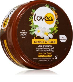 Lovea Tanning Gel Coco crema gel intensiva pentru intensificarea bronzului