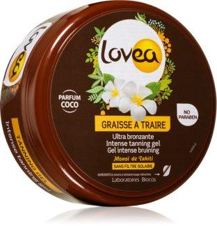 Lovea Tanning Gel Coco intenzív géles krém barnulás elősegítésére