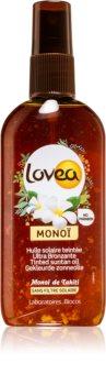 Lovea Monoi Tönungsspray zum schnelleren Bräunen