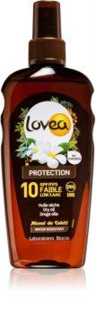 Lovea Protection ulei de bronzat pentru piele uscata SPF 10