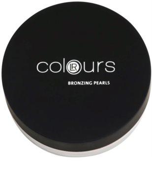 LR Colours pérolas bronzeadoras matificantes para o rosto