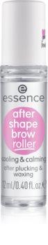 Essence After Shape Brow Roller beruhigendes Gel für die Augenbrauen