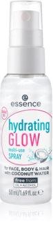 Essence Hydrating Glow spray léger et multifonctionnel visage, corps et cheveux