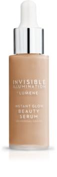 Lumene Invisible Illumination okamžite rozjasňujúce sérum - make-up pre všetky typy pleti