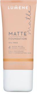 Lumene Nordic Chic Matte Control maquillaje cubre imperfecciones con acabado mate para pieles grasas y mixtas
