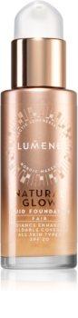 Lumene Natural Glow Fluid Foundation aufhellendes Make up für einen natürlichen Look SPF 20