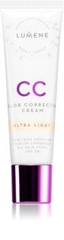 Lumene Color Correcting  CC krém az egyenletes bőrszínért