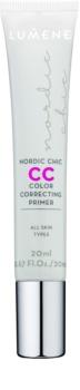 Lumene Nordic Chic CC основа за озаряване и уеднаквяване на кожата на лицето