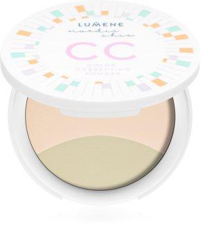 Lumene Nordic Chic CC poudre crème pour un teint unifié