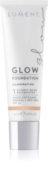 Lumene Nude Perfection base hidratante contra imperfeições de pele