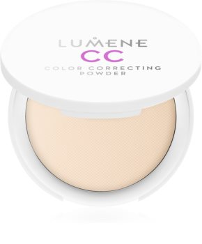 Lumene Color Correcting компактна пудра  да уеднакви цвета на кожата