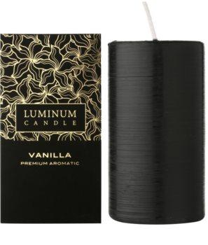 Luminum Candle Premium Aromatic Vanilla candela profumata grande (⌀ 70 –130 mm, 65 h)