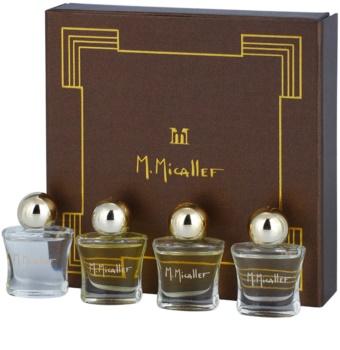 M. Micallef Mini lote de regalo I. Akowa + Emir + Pure + Ananda Dolce