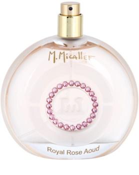 M. Micallef Royal Rose Aoud parfumovaná voda tester pre ženy