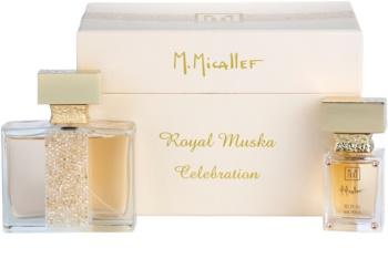 M. Micallef Royal Muska lote de regalo I.