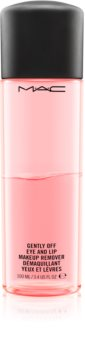 MAC Cosmetics  Gently Off Eye and Lip Makeup Remover démaquillant bi-phasé yeux et lèvres