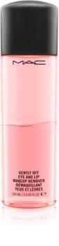 MAC Cosmetics  Gently Off Eye and Lip Makeup Remover dvoufázový odličovač očí a rtů