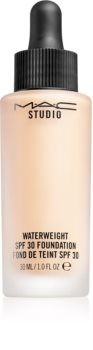 MAC Cosmetics  Studio Waterweight SPF 30 Foundation könnyű hidratáló make-up SPF 30