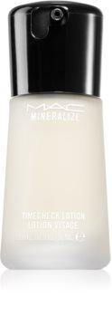 MAC Cosmetics  Mineralize Timecheck Lotion cremă intens hidratantă pentru netezirea pielii si inchiderea porilor