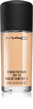 MAC Cosmetics  Studio Fix Fluid mattító make-up SPF 15