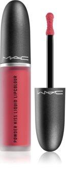 MAC Cosmetics  Powder Kiss Liquid Lipcolour Matter Flüssig-Lippenstift