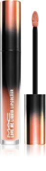 MAC Cosmetics  Love Me Liquid Lipcolour krémová rtěnka se saténovým finišem